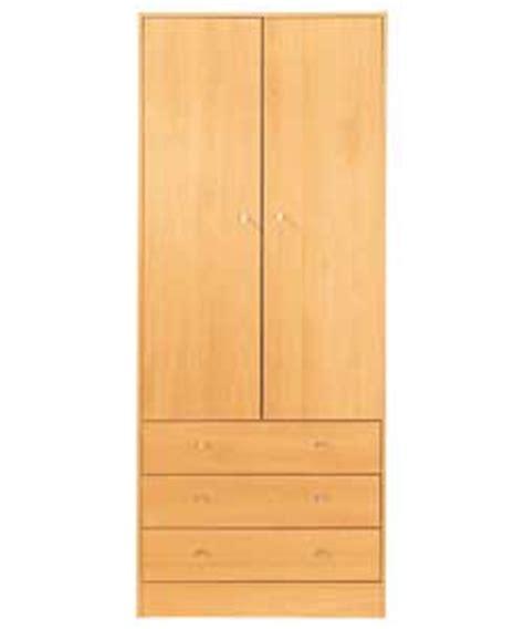 2 Door 3 Drawer Wardrobe by Wardrobes Malibu 2 Door 3 Drawer Wardrobe M
