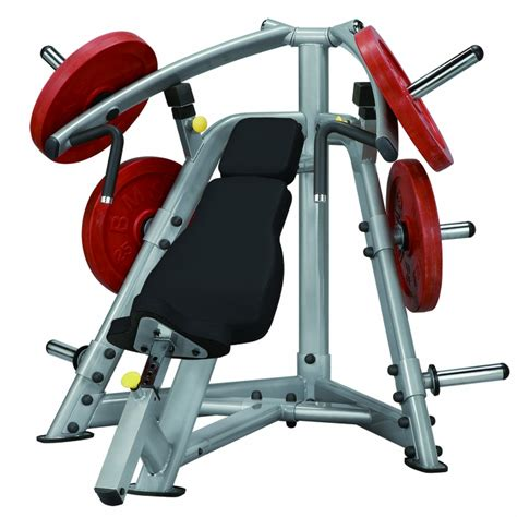 bench press machines steelflex plip1400 leverage incline bench press machine