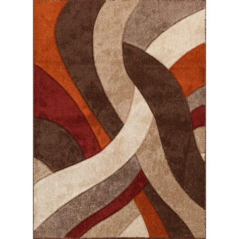 Orange Area Rug 8x10 8 X 10 Large Brown Orange Area Rug Alpha Charming 8x10 Brown Area Rugs 2