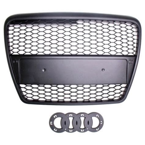 Audi A6 4f Grill by Rs6 Look Singleframe Grill Schwarz Audi A6 C6 4f 159 00