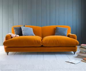 Orange Sofa Interior Design by Pudding Sofa Mad About The House
