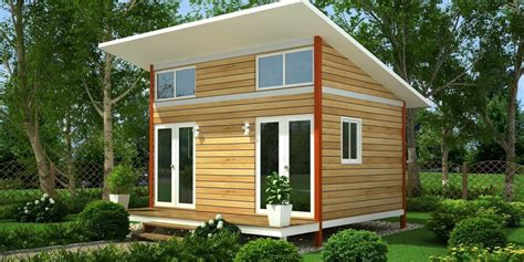 mini home designs perfect slanting roofing wooden small houses with double