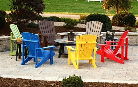 Colorful Adirondack Chairs by Learn Home Decorating Skills Color Style Decor