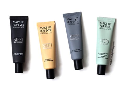Make Up For Step 1 Primer makeup review and swatches make up
