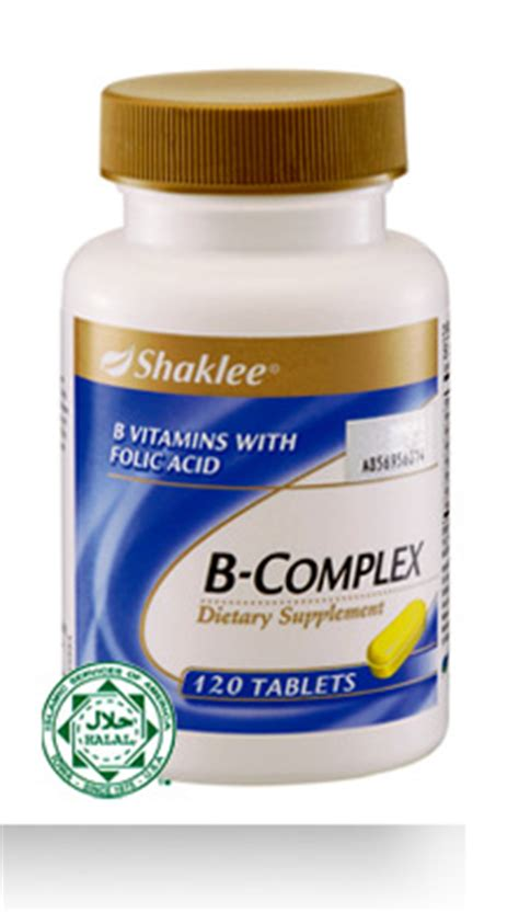 Vitamin B Complex Shaklee b complex satu nutrition your trusted