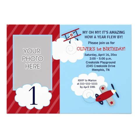 airplane invitation template personalized airplane birthday invitations
