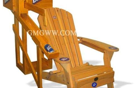 dispensing chair plans gmg unique solutions drink dispensing adirondack chair