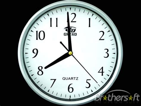 clock themes for xp free download download free clock 2010 screensaver clock 2010