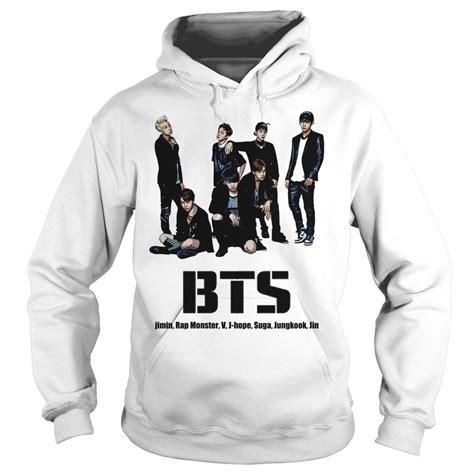 Bts Hoodie bts bangtan boys shirt hoodie sweater longsleeve t shirt
