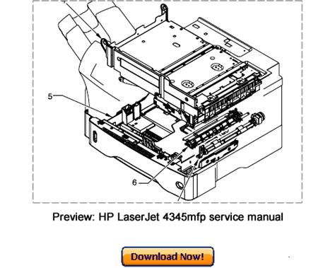 Hp Laserjet 4345mfp Service Repair Manual Download