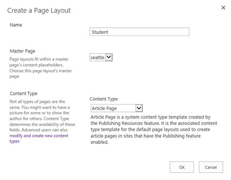 editing page layout in sharepoint 2013 how to create a page layout in sharepoint codeproject