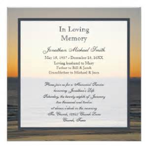 funeral announcements template funeral announcement template