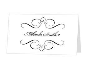 free placecard template