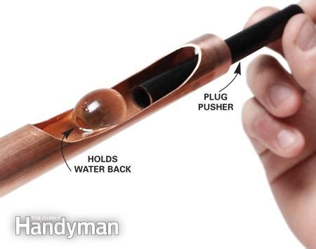 Soldering Copper Plumbing by Soldering Copper Pipe The Family Handyman