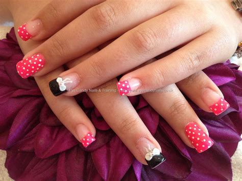 Nail art and 3d bows on ring finger nailart nails nail technician