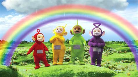 ceebeebies iplayer cbeebies iplayer teletubbies series 1 55 rainbow