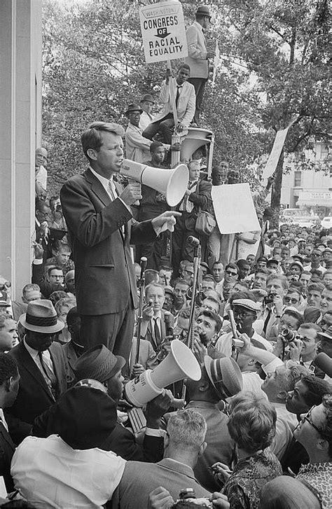 Chappaquiddick Speech Analysis Civil Rights Movement Desegregation Photo Robert F Kennedy