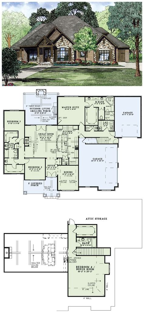 brick home floor plans house plan 82162 and style are found throughout this rustic plan brick and