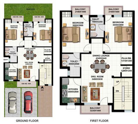 Floor Plans For 2 Bedroom Homes Ansal Housing