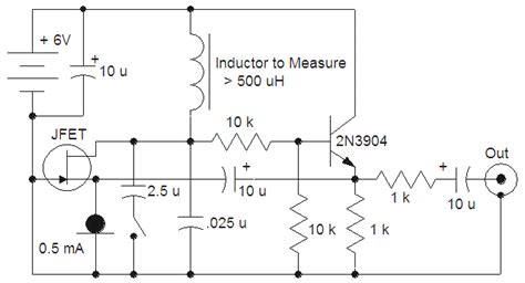 inductance tester schematic large inductor tester