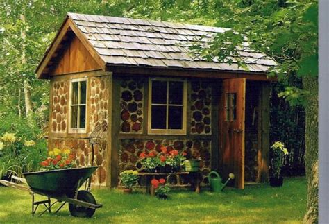 backyard house shed garden houses made of wood nice and compact garden shed