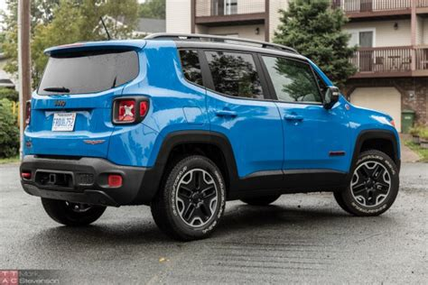 turquoise jeep renegade 2015 jeep renegade trailhawk review gimmicky nostalgia