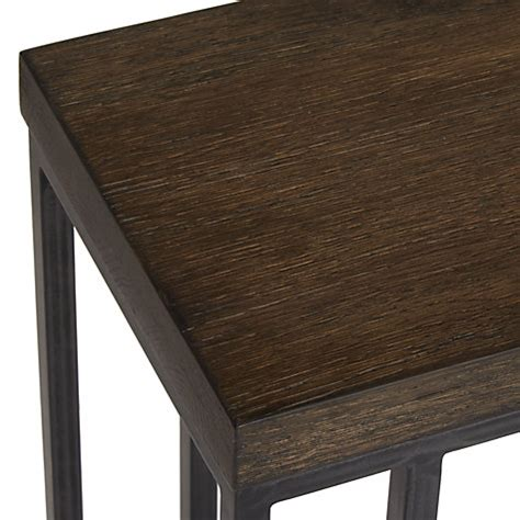 lewis wood sofa table buy john lewis calia sofa side table dark wood john lewis