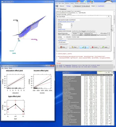using the r commander a point and click interface for r books 科学网 转载 the r commander a basic statistics gui for r 赵晓锋的博文