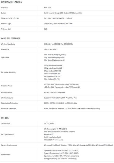 Harga Tp Link 722 jual tp link tl wn722n harga bersaing spesifikasi