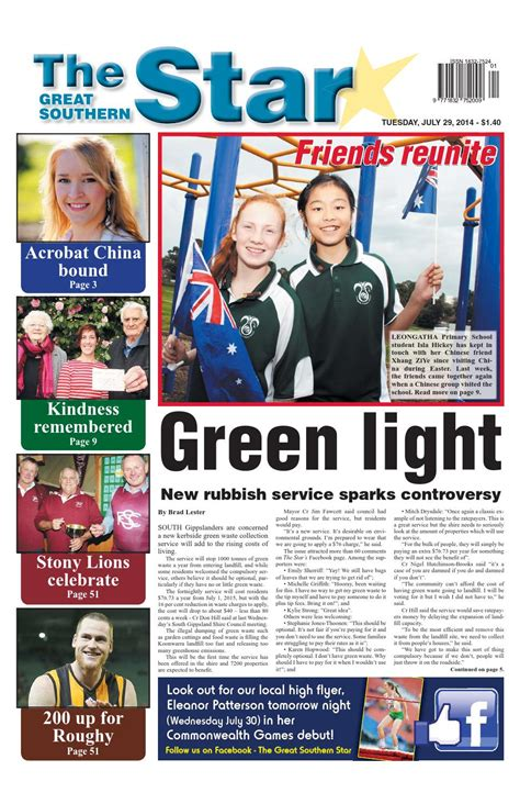 issuu the great southern star april 1 2014 by the issuu the great southern star july 29 2014 by the
