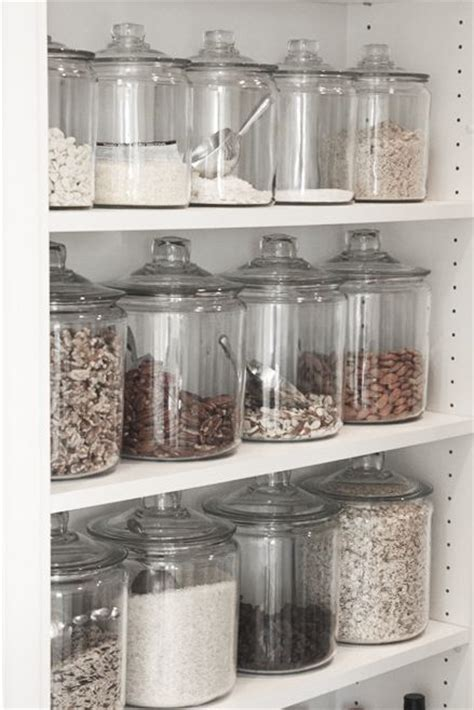 Glass Pantry Storage by The Most Pantry Storage Glass Or Plastic Pantry