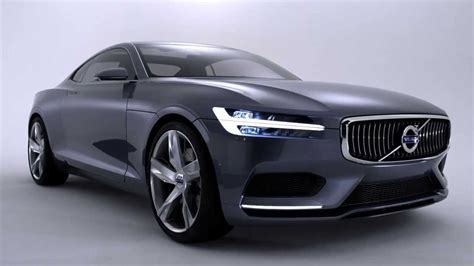 volvo launches  volvo concept coupe  remake   p sports car youtube