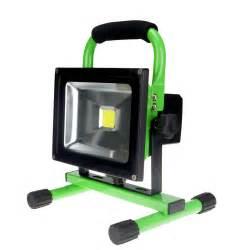 portable outdoor lighting portable rechargeable led flood light emergency led spot