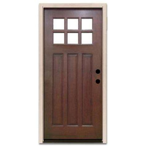 Left Hand Outswing Doors With Glass Wood Doors The Home Depot Front Doors With Glass