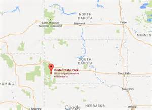 Custer State Park Map by Similiar Map Of Custer State Park Area Keywords