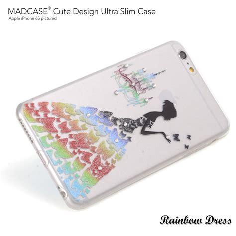design apple case madcase cute designs clear silicone gel diamante case for
