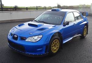 Subaru Auto For Sale Petter Solberg S 2007 Subaru Wrc S12b Rally Car
