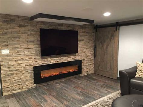 finish basement nj finished basement with egress window bar fireplace and home theater belleville nj may