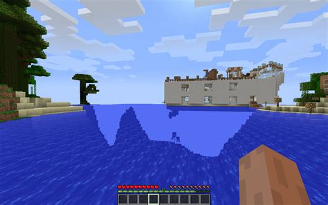 minecraft boat redstone the amazing redstone boat house minecraft project