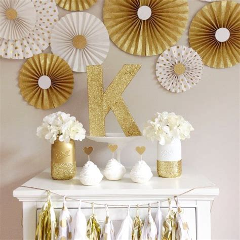 17 best ideas about gold party decorations on pinterest