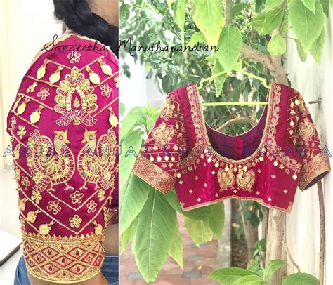 boat neck hand embroidery designs beautiful boat neck designer blouse with hand embroidery gold