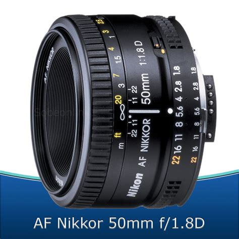 nikon 50mm f 1 8d af nikkor lens kit for nikon d3300 d3200 d5300 d5200 ebay