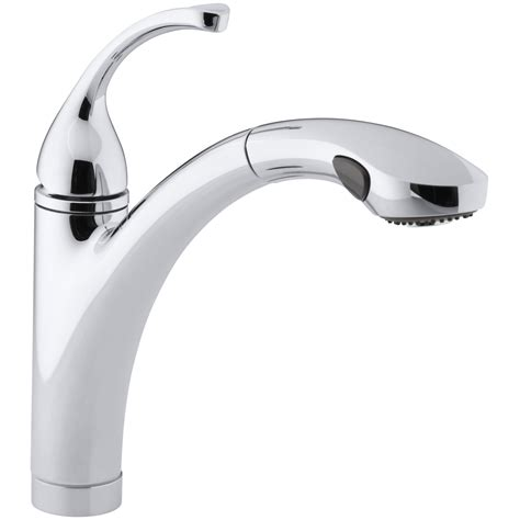 single hole kitchen sink faucet kohler fort 233 single hole or 3 hole kitchen sink faucet