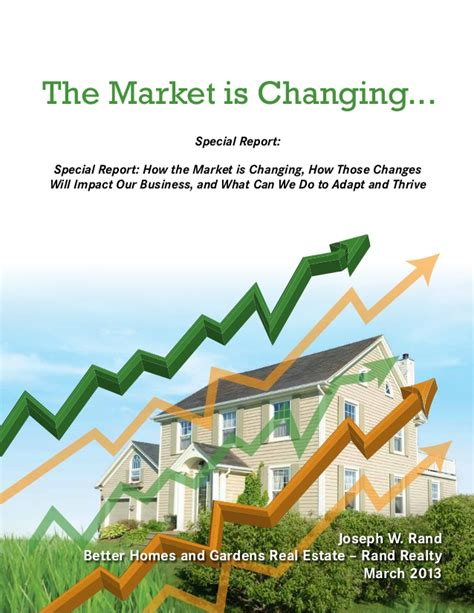 better homes and gardens rand realty the market is