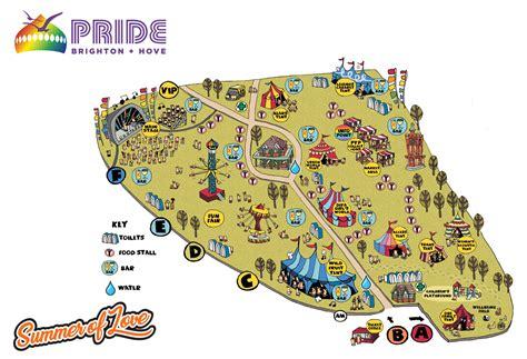 design love fest map pride festival map 2017 brighton and hove pride 2017