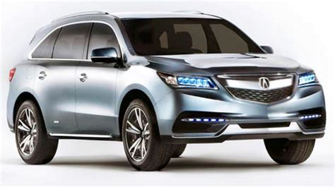 2020 Acura Mdx Hybrid by 2020 Acura Mdx Hybrid Redesign And Release Date Acura