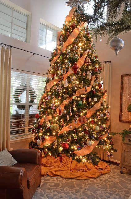 17 best ideas about orange christmas tree on pinterest
