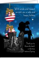 christmas cards  military service  greeting card