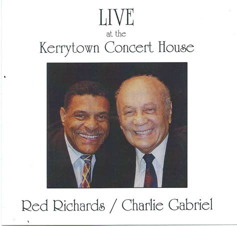 kerrytown concert house red richards charlie gabriel live at the kerrytown concert house louisiana