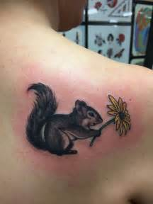 tim beck tattoo done squirrel my adorable squirrel holding a